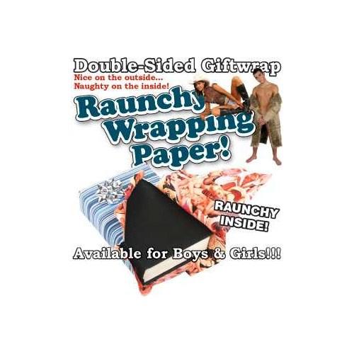 Suck Uk - Raunchy Wrapping Paper ( Edepsiz Hediye Kaplama Kağıdı )