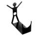 Chic Metal Erkek Şaraplık - Siyah