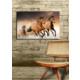 TabloModern Koşan Atlar Kanvas Tablo 45x70 cm