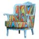 Gibi Design Wavy Mavi Berjer