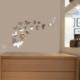 Dekorjinal Dekoratif Kırılmaz Ayna Kelebekler - MRR009