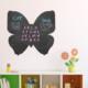 Dekorjinal Kelebek Yazılabilir Yaz Sil Sticker YS35