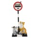 Comic and Curious Cats Mouse Crossing (Fare geçiyor) Biblo
