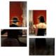 Tictac Design 4 Parça Kanvas Tablo