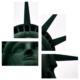 Tictac Design Özgürlük Heykeli 4 Parça Kanvas Tablo 17
