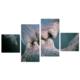Tictac Design Love 4 Parça Kanvas Tablo T4P-4S - 73