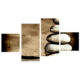 Tictac Design 4 Parça Kanvas Tablo Taşlar