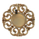 Casa di Mona Altın Eskitme Ahşap Dekoratif Ayna CDM00080