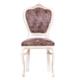 3A Mobilya Antique Eskitme Oymalı Sandalye - Kahve