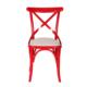 3A Mobilya Kırmızı Kuşaklı Sandalye