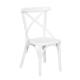 3A Mobilya White Thinny Sandalye Beyaz