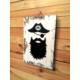 Oldwooddesign Bearded Pirate Tablo