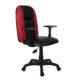 Türksit Maestro Sport Kırmızı Ofis Sandalyesi - Siyah