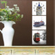 M3Decorium Mdf İstanbul Manzaralı Tablo Duvar Saati