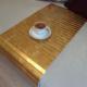 Esser Altın Varak - Koltuk Sehpası 30x60 cm