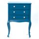 Woodenbend Wanetta Mini Konsol Mavi