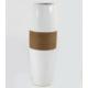 Desen Home İpli İnce Uzun Vazo Beyaz 38 cm Gs99334