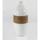Desen Home Dar Ağızlı İpli Vazo Beyaz Gs99911