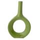 Vitale Aksesuar Yeşil Modern Stil Vazo 04 20x5x40 cm