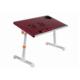 Yükseklik Ayarlı Çift Soğutuculu Portatif Katlanabilir Laptop Sehpası Kırmızı