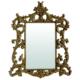 Fenetre Rokoko Altın Varaklı Ayna