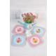 The Mia Bardak Altlığı Cupcake - 4Lü Set