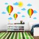 Besta Renkli Balon Duvar Sticker