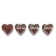 "Kanca Ev Magnet 4 lü Set ""Çikolata Love"""
