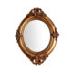 Vitale Polyester Bronz Oval Sultan Ayna