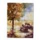 Oscar Stone Sandal Ağacı Doğal Taş Tablo