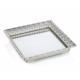 Porio Gümüş Aynalı Tepsi 39*30