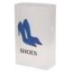 Gold Dekor Ayakkabı Saklama Kutusu Mavi