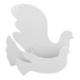 Cosiness Lake Ahşap Dekoratif Posta Kutusu Güvercin Beyaz