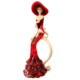 N'crea Home Kırmızı Şapkalı Bayan Biblo