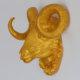 İki Lob Dekoratif Koç Kafası Büstü Varak Renkler