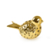 Çağ Deccor 2'Li Dekoratif Altın Renk Kuş