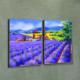 Artikel Lavender Garden 2 Parça Kanvas Tablo
