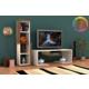 Rafline Bacia Tv Ünitesi - Ceviz Beyaz