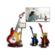 Toptancı Kapında Gitar Tasarımlı Dekoratif Masa Saati