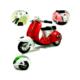 Toptancı Kapında Vespa Çek Bırak Motosiklet