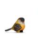 Alara Home Dekoratif Kuş Biblo- Büyük Sarı Siyah