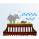 Dekorjinal Hoşgeldin Bebek Çocuk Sticker - Erkek - Ncc32