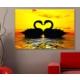 Artcanvas Kuğu Dekoratif Kanvas Tablo -50x70 cm