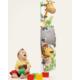Dekorjinal Çocuk Boy Cetveli Sticker- Zürafa Aslan - Bt08