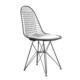 Şaziye Metal Eames Statik Boyalı Tel Sandalye - Beyaz