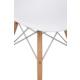 Evmanya Haus Eames İthal Sandalye Ahşap Ayaklı - Beyaz