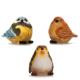 Alara Home Dekoratif 3 Lü Büyük Kuş Biblo 09