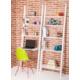 Colors Home Merdiven Kitaplık & Masa Seti - Beyaz