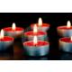 Happy Candle 24 adet Kırmızı Tea Light Mum mm20-24
