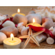 Duvar Tasarım DLC 1017 Candle Led Canvas Tablo - 70x50 cm